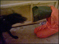 Image of suspected Abu Ghraib abuse. Courtesy SBS television