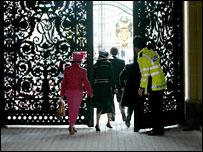 Peterkin family at Buckingham Palace