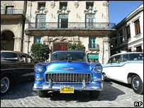 С 1960 Куба не ввозит автомобилей из США