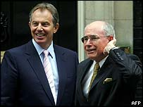 Tony Blair and John Howard