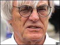Formula One impresario Bernie Ecclestone