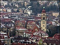 The German city of Stuttgart