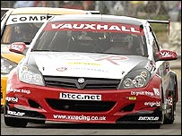 Yvan Muller's Vauxhall Astra