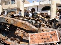 Bomb devastation in Sharm al-Sheikh