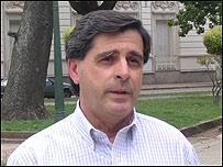 Daniel Irigoyen, intendente de Gualeguaychú.