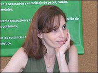 Paula Brufman, coordinadora Campaña contra la Contaminación en el Cono Sur de Greenpeace.
