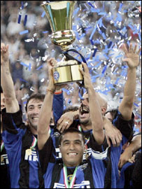 Inter won the Coppa Italia last season