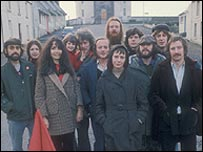 BBC production of The Cheviot, the Stag and the Black, Black Oil in 1974