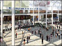 Plans for New Street Station