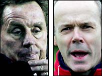 Harry Redknapp and Sir Clive Woodward
