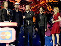Coldplay and Madonna