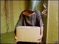 Image of suspected Abu Ghraib abuse