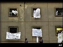 Prisión de Carandiru en Sao Paulo