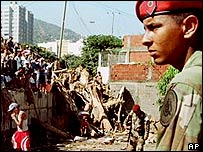 Venezuelan National Guard soldier