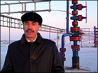 Rusalim Dimukhamedov, chief geologist, Ritek oil and gas company