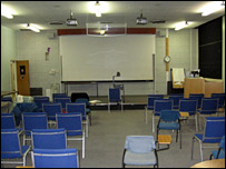 Yorkhill Hospital lecture theatre