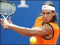 French Open champion Rafael Nadal
