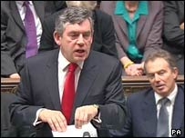 Gordon Brown delivers his pre-Budget report
