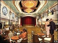 Queen Victoria interior