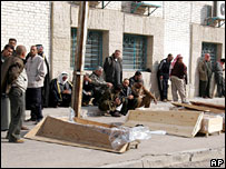 Coffins containing bodies of 11 men found shot dead in Baghdad on 1 February