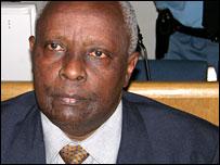 Genocide suspect Michel Bagaragaza (ICTR).