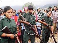 Maoist guards