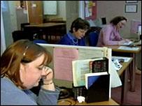 Childline counsellors