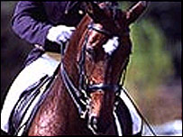 Michel Assouline riding Annastasia. Picture Horse and Hound
