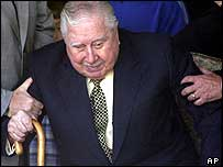 General Augusto Pinochet in 2003