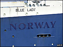 SS Norway, French ocean-liner