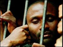 Hutu prisoner 1995