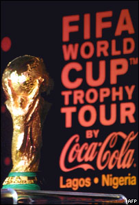 Fifa partner Coca-Cola produced a jointly managed publicity event in Nigeria