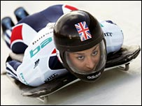 British skeleton star Shelley Rudman