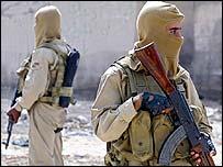 Iraqi police commandos