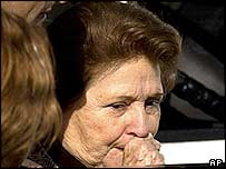 Lucia Pinochet, the wife of former Chilean President Augusto Pinochet. File photo