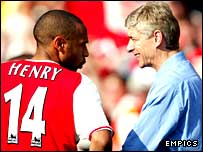 BBC SPORT | Football | My Club | Arsenal | Henry has faith in ...