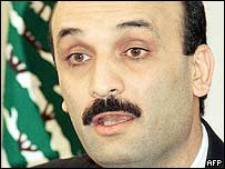 Samir Geagea. File photo