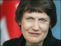 New Zealand Prime Minister Helen Clark