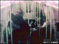 CCTV footage of Oval bombing suspect