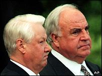Ельцин и Коль