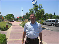 Jewish settler Ari Katz