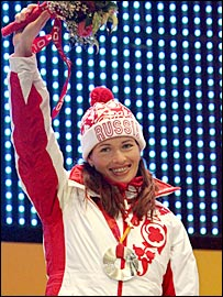 Russia's Olga Pyleva