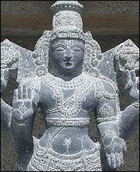 Statue at Balaji Temple