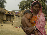 Musahar mother and child