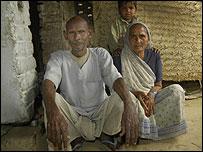 Girija Devi and her husband