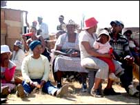 Roodekop residents