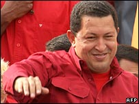 Venezuela President Hugo Chavez. File photo