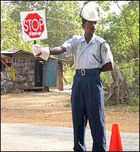 Tamil Eelam policeman, Kilinochchi