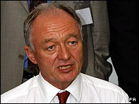 Ken Livingstone at the meeting with Muslim leaders