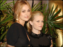 Keira Knightley and Reese Witherspoon